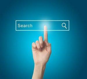 Search method for scientific literature