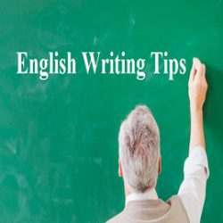 English Writing Tips