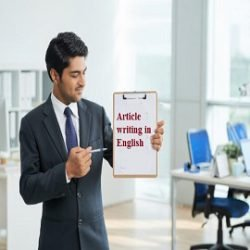 Article writing in English